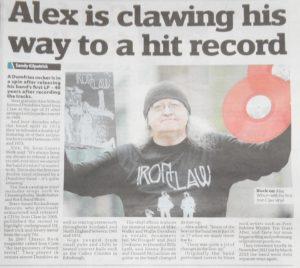 Iron Claw newspaper