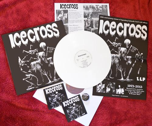 Icecross LP white vinyl